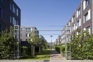 Een onbegrensde ruimte zonder hiërarchie is en blijft kenmerkend voor de wijk