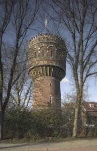 Het exterieur van de Delftse watertoren is gedurende bijna 115 jaar nagenoeg ongewijzigd