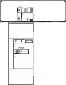 Plattegrond verdieping 1:300