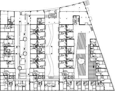 Plattegrond eerste verdieping 1:1250