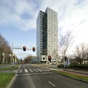 De appartementen aan de noordzijde hebben geen balkon, maar een (optionele) serre