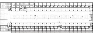Plattegrond kelder 1:1250