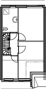 Plattegrond eerste verdieping