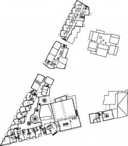Plattegrond vierde verdieping 1:2000