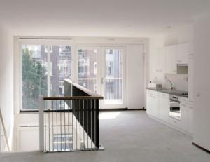 Interieur woningtype D2 (3e/4e verdieping)