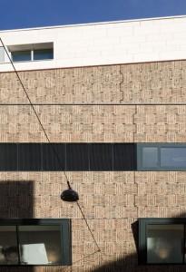 Expressieve en decoratieve toepassing van baksteen