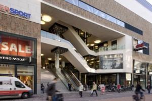 Theatrale entree in de Grote Marktstraat