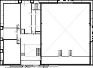 Plattegrond verdieping 1:500