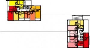 Plattegrond verdieping 1:1000