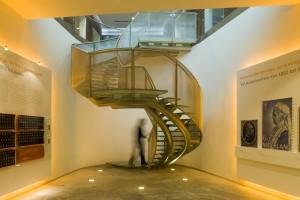 trap graphic design museum Breda Hans van Heeswijk. Foto Luuk Kramer