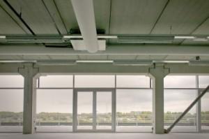 De derde verdieping heeft bijzonder royale terrassen