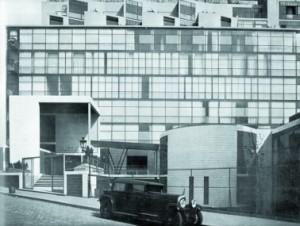 Cité de Refuge, naar ontwerp van Le Corbusier, is een belangrijke inspiratiebron