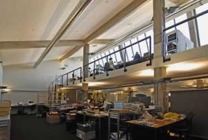 Bovenste verdieping met entresol