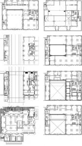 Plattegronden kelder t/m zesde verdieping