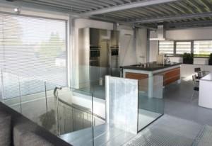 Keuken op de verdieping