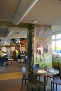 La Porte huisvest ook een informatiecentrum van Nationaal Park Utrechtse Heuvelrug