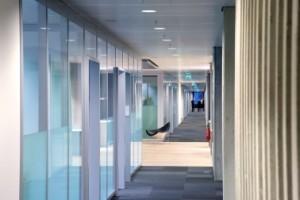 Interieur kantoorvleugel