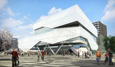 Het Stadshuis van de Deense architect Kim Herforth Nielsen