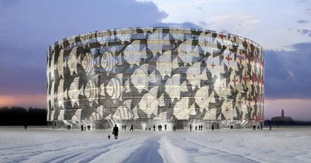Modern colosseum van cepezed in den haag - Architectuur en constructie ...
