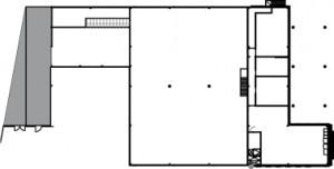 Situatie verdieping 1:1000