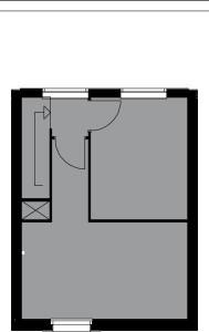 Plattegrond slaapkamer