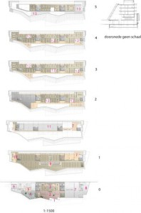 Plattegronden o.a. begane grond,1e verdieping