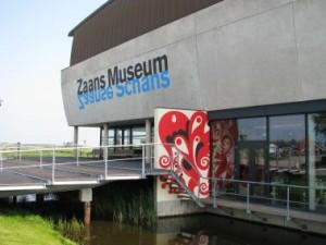 Ingang van het museum
