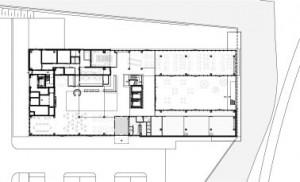 Plattegrond standaard verdieping