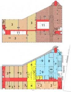 Plattegronden begane grond en verdieping
