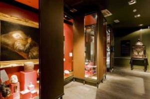 Tentoonstellingsruimte in de oudbouw