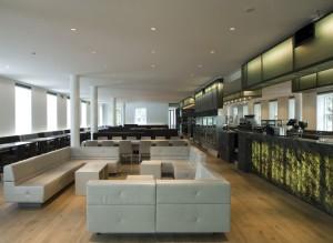 Restaurant op de eerste verdieping van de tuinvleugel. Foto Luuk Kramer.