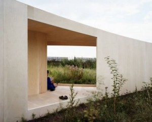 Trail House Almere - Gebogen houten platen