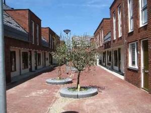 3 Inmiddels heeft de gemeente groenvoorzieningen aangelegd en zijn de eerste buitenzitjes ontstaan