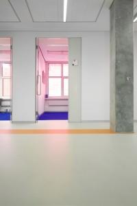 9 Kleurrijke kantoorruimte
