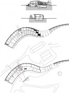 11 Plattegronden begane grond en verdieping plus doorsneden 1:1000