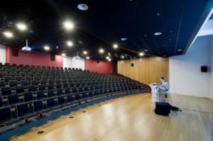 8 Ondergronds auditorium
