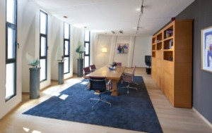 Vergaderzaal in een torenspits