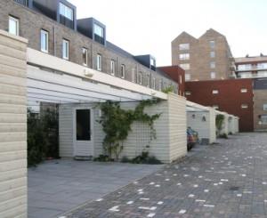 5 Achterzijde woningen Oud Wulvenlaan