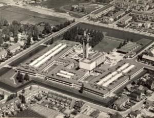 4 Luchtfoto van oorspronkelijke situatie