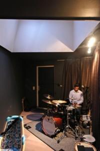 7 Muziekstudio met daklicht