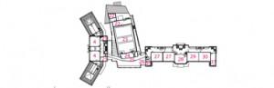 12 Plattegrond verdieping 1:2000
