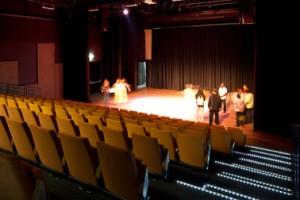 8 Theaterzaal met 200 stoelen