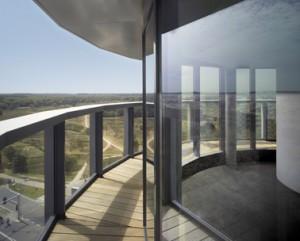 6 Uitzicht vanaf de panoramaverdieping bovenop de watertoren