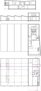 11 Plattegronden begane grond en verdieping plus doorsnedes 1:400