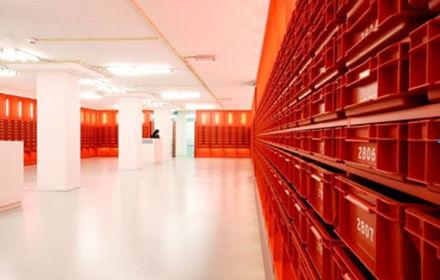 Bibliotheek Universiteit van Amsterdam door Ira Koers en Roelof Mulder, een van de Winnaars van de DDA 2010
