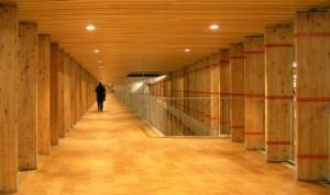 1 Voetgangerscorridor naast vide