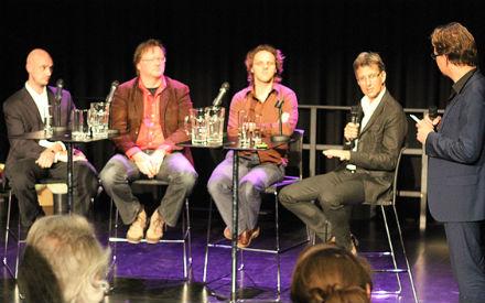 Peer Glandorff, Haiko Meijer, Marnix van der Meer, Dirk jan van Wieringhn Borski