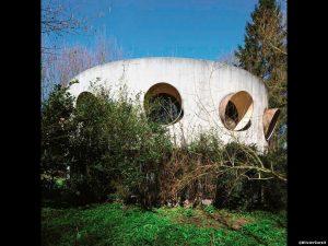 Maison Storm bij Bergen (B)  1972 architect Freddy Gallez Foto OlivierCornil