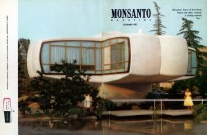 Monsanto house of the future in Disneyland USA 1957