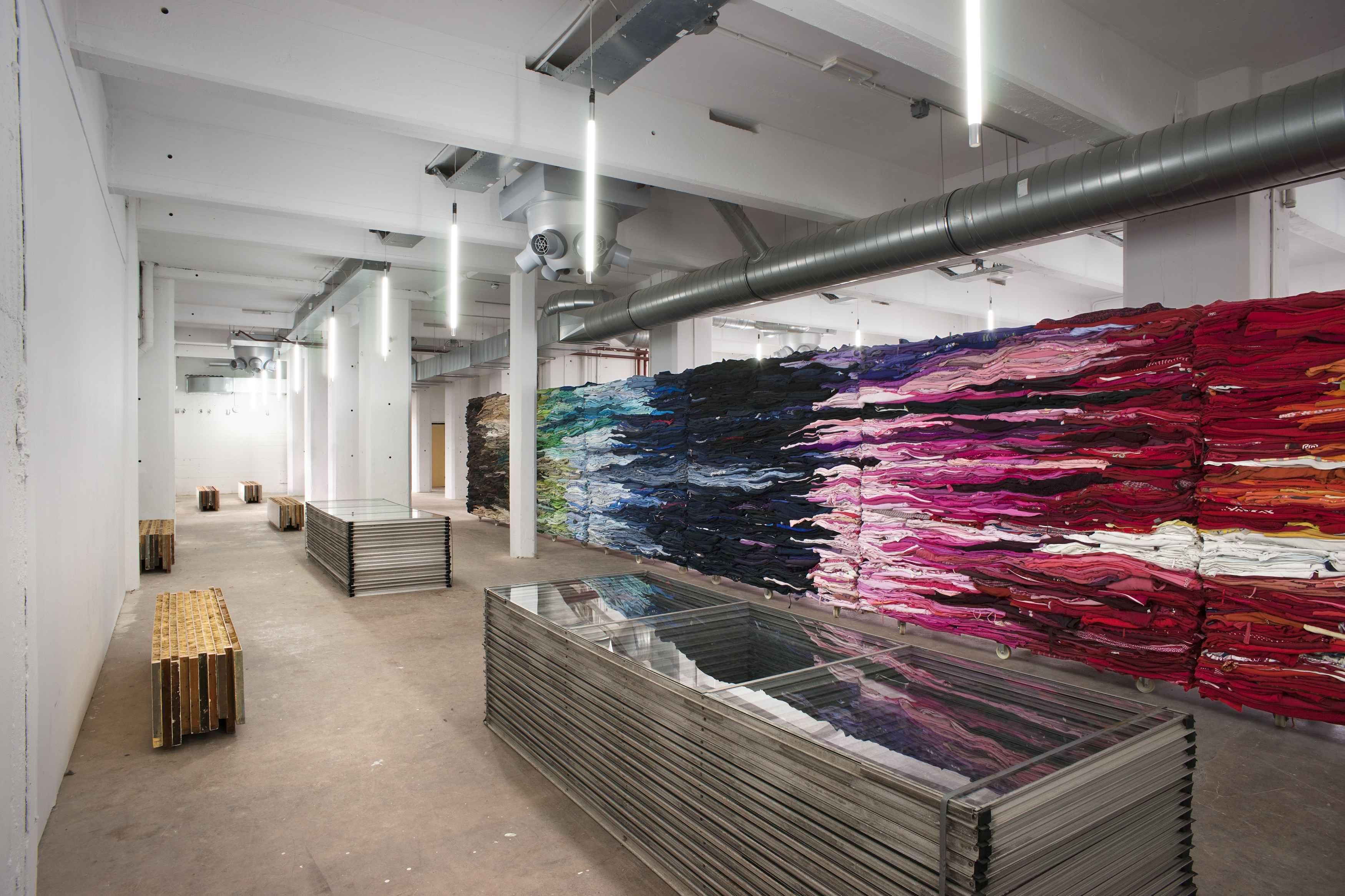 Sloopmateriaal wordt kantoorinterieur for Archi interieur rotterdam